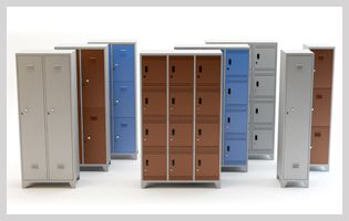Garment Lockers, Steel Lockers Manufacturer