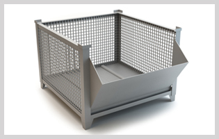 wire mesh pallet cages india